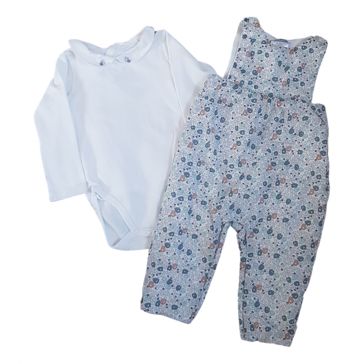 Jacadi \N Blue Cotton Outfits for Kids 12 months - up to 74cm FR