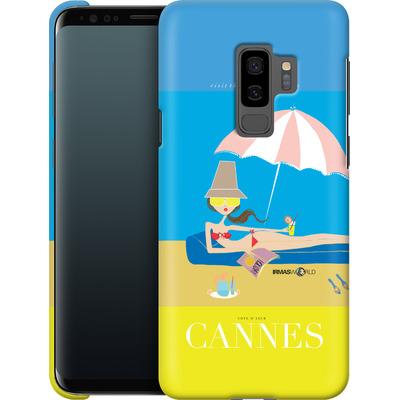 Samsung Galaxy S9 Plus Smartphone Huelle - CANNES TRAVEL POSTER von IRMA
