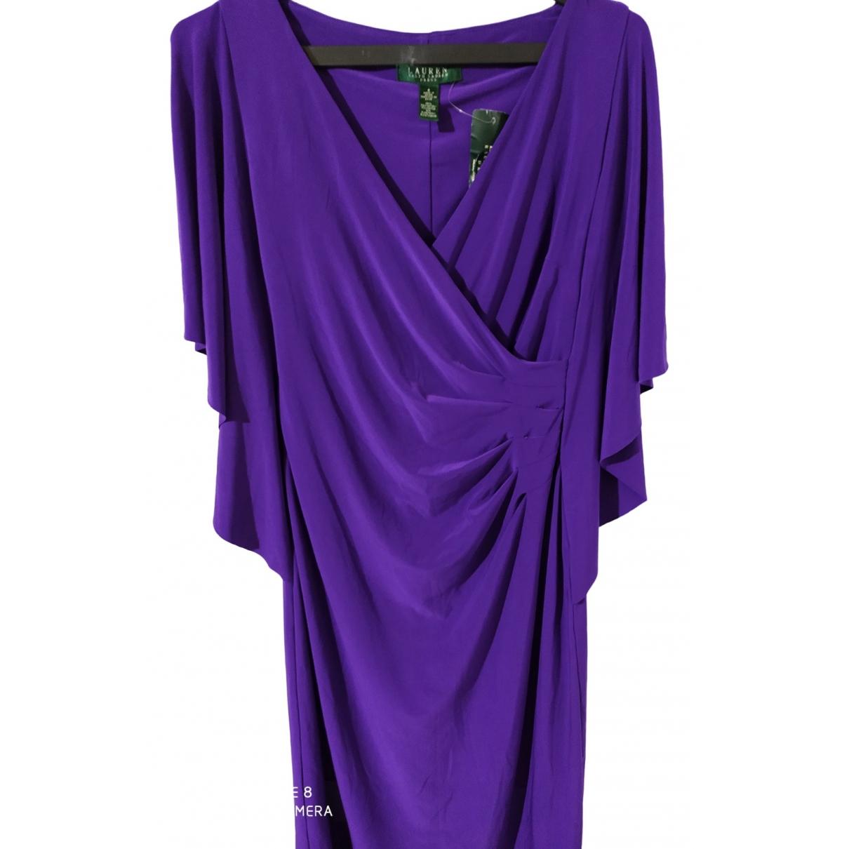 Lauren Ralph Lauren \N Kleid in  Lila Polyester