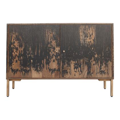 Artists Collection PP-1015-02 Sideboard with Iron Legs in Black