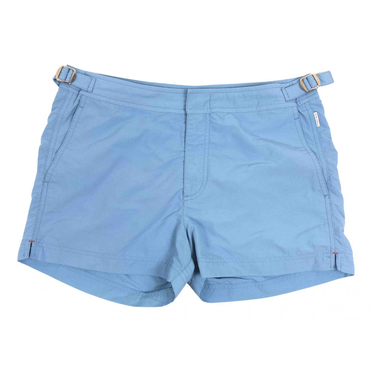 Orlebar Brown \N Badeanzug in  Blau Polyester