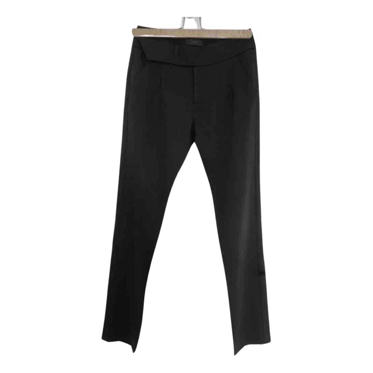 Ikks N Black Trousers for Women 34 FR