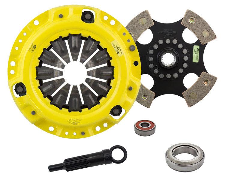 ACT TK1-XTR4 XT/Race Rigid 4 Pad Clutch Kit Toyota Corona 69-70