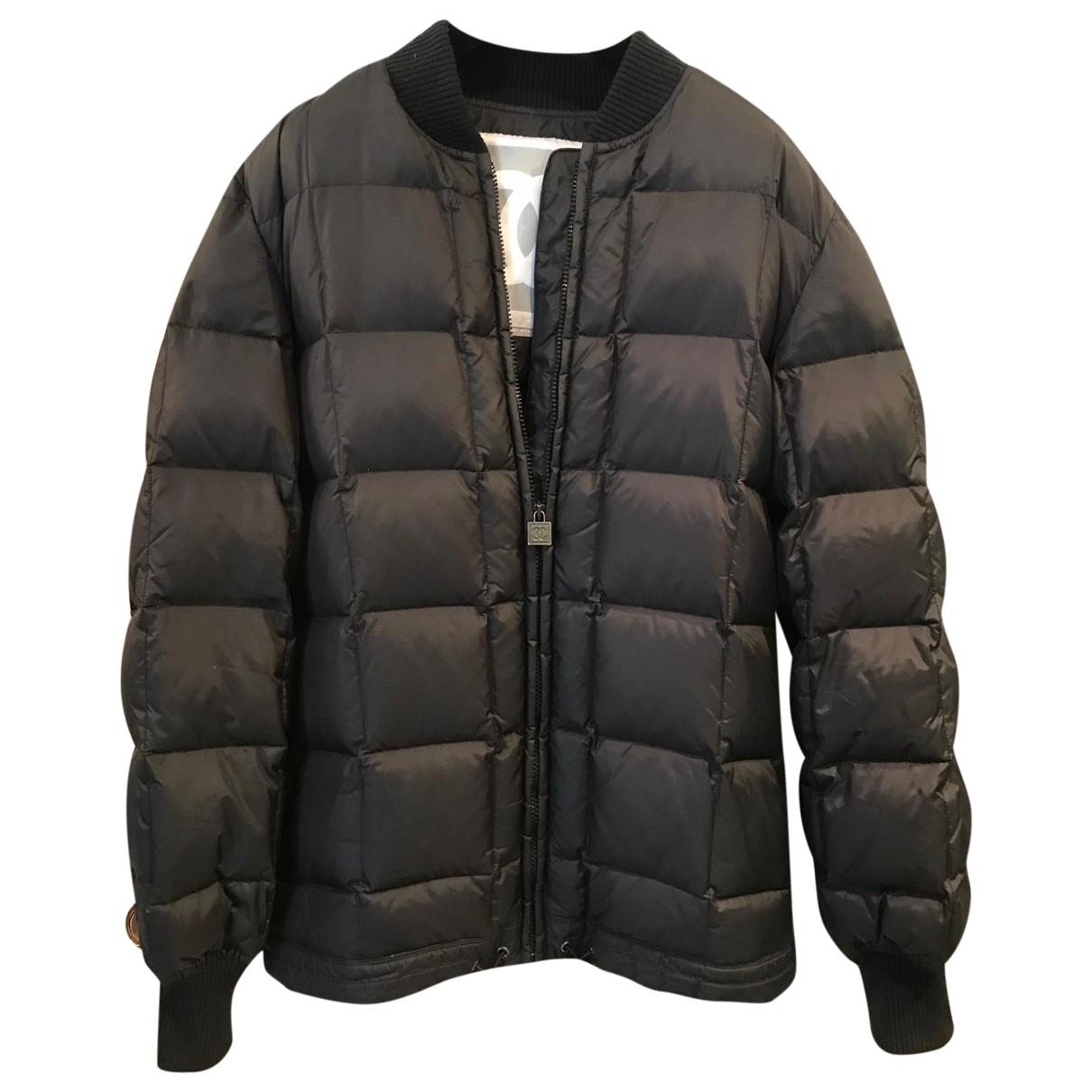 Chanel \N Black Leather jacket for Women 40 FR