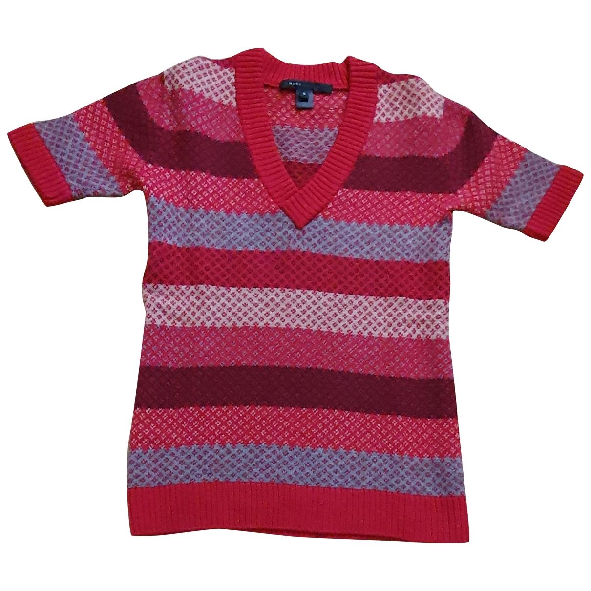 Marc Jacobs - Pull   pour femme en laine - rouge