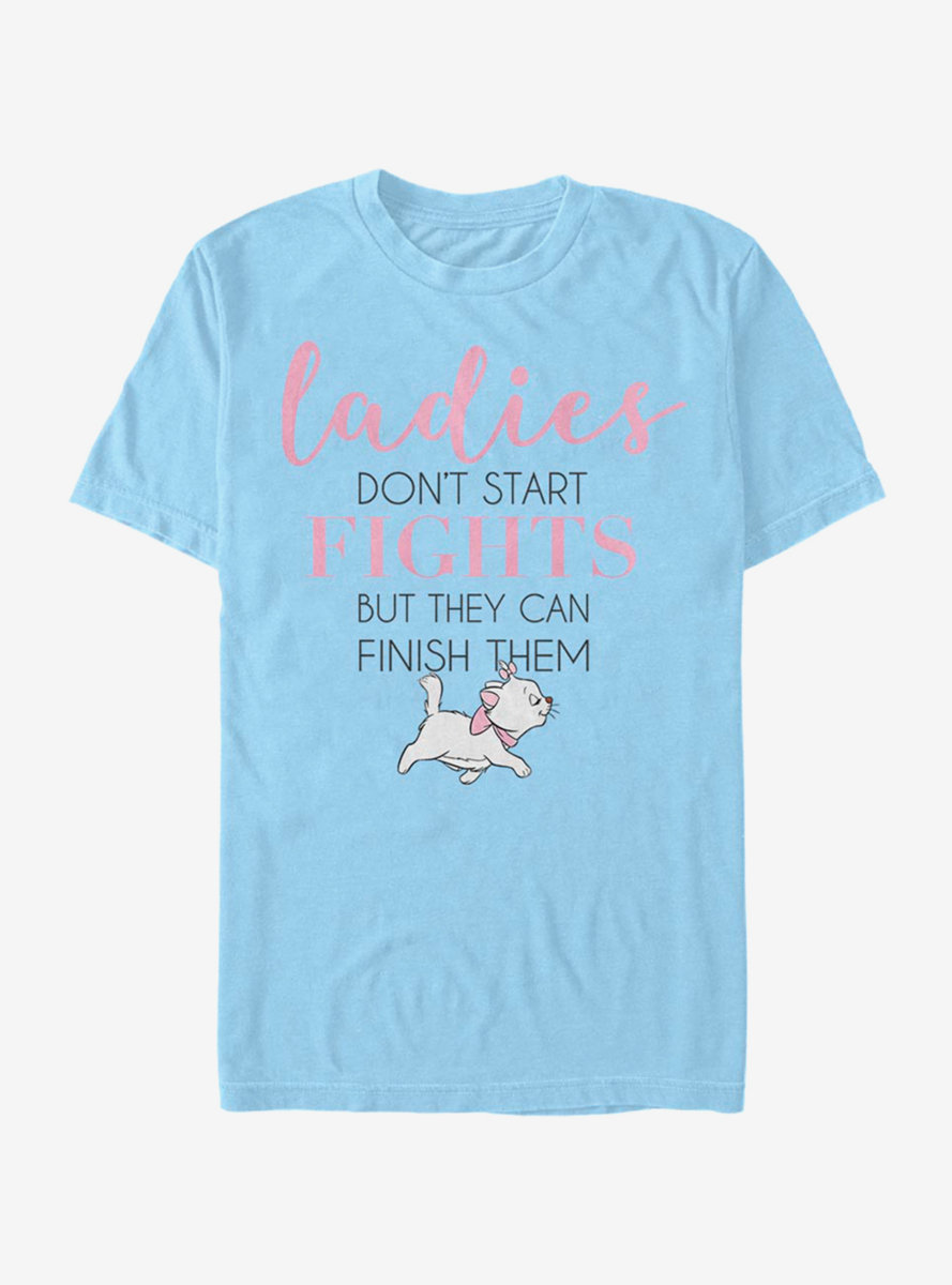 Disney The Aristocats Ladies Stack Two T-Shirt