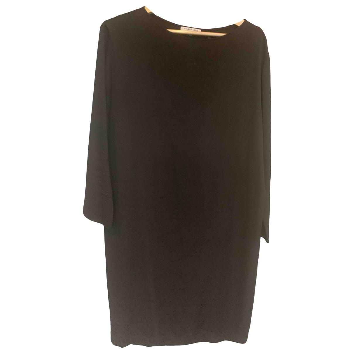Helmut Lang \N Black Silk dress for Women M International