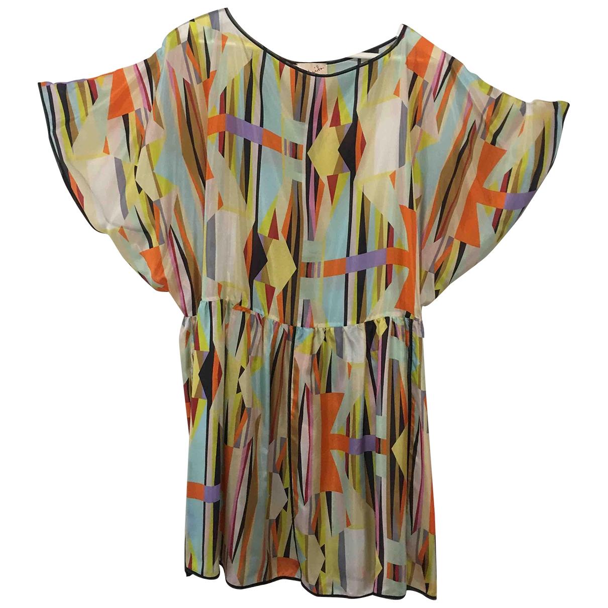 Mila Schon Concept \N Kleid in Seide