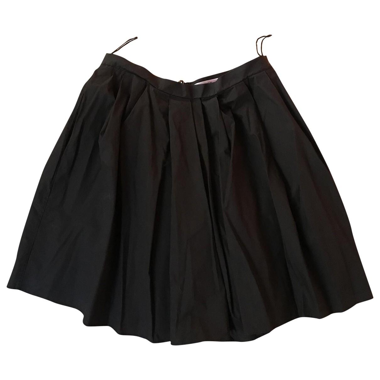 Carven - Jupe   pour femme en coton - noir