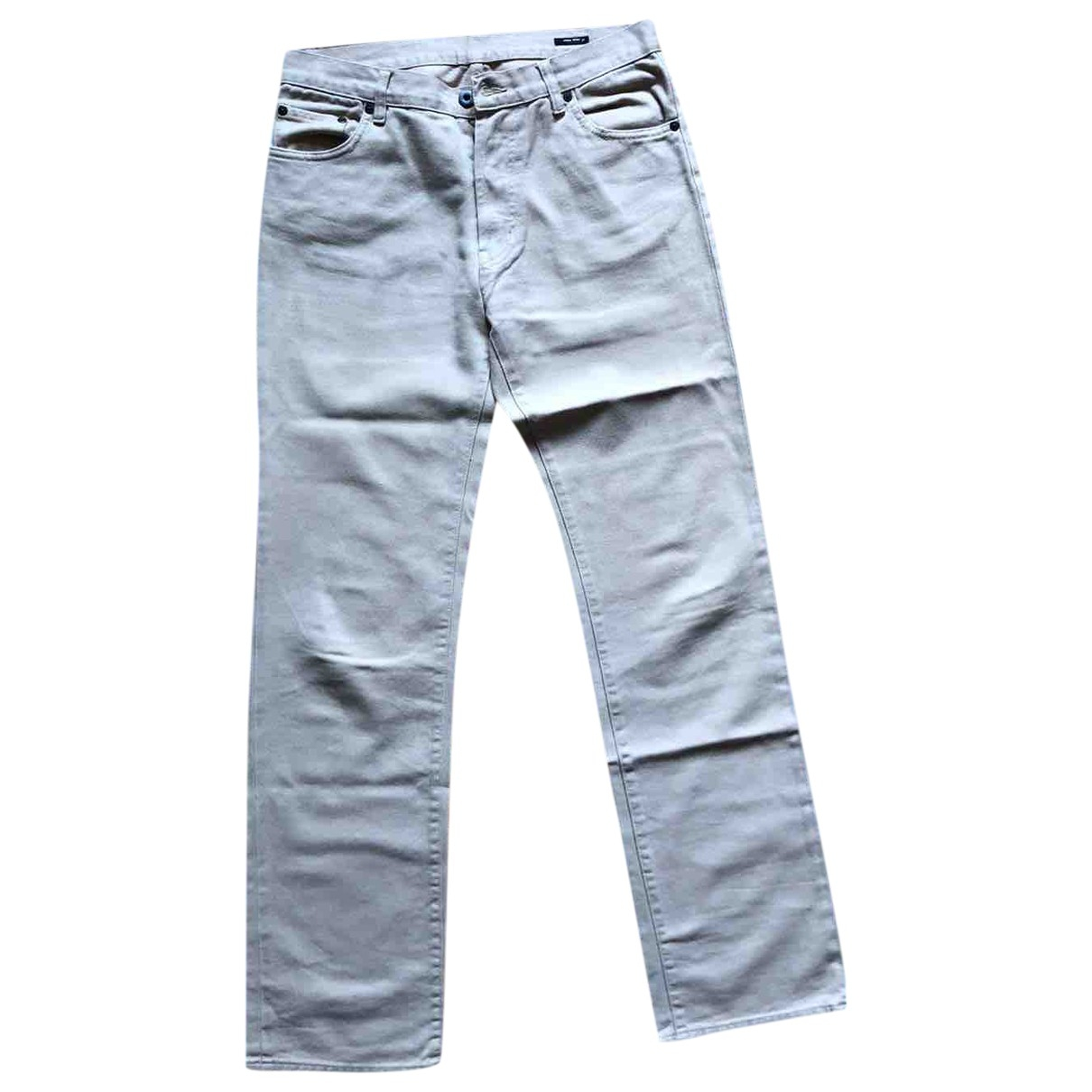 Miu Miu \N Beige Denim - Jeans Trousers for Men M International