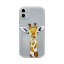 iPhone Huelle mit Giraffe Muster