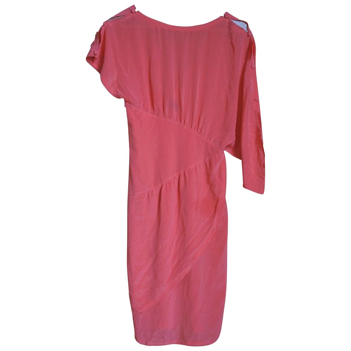Fendi \N Kleid in  Rosa Seide
