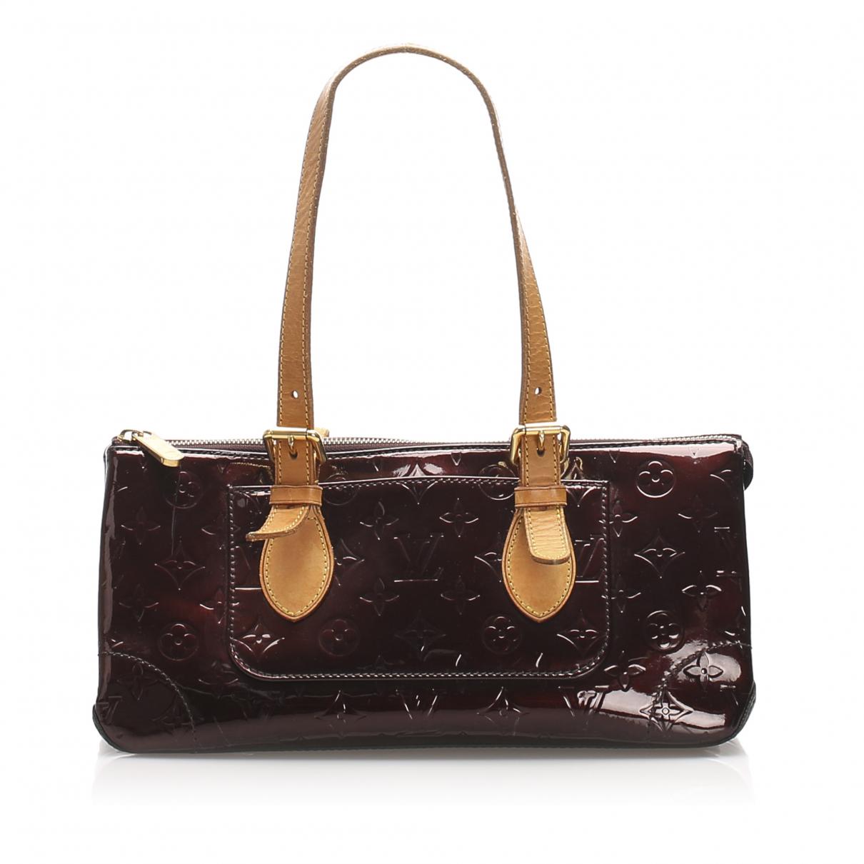 Louis Vuitton - Sac a main   pour femme en cuir - violet