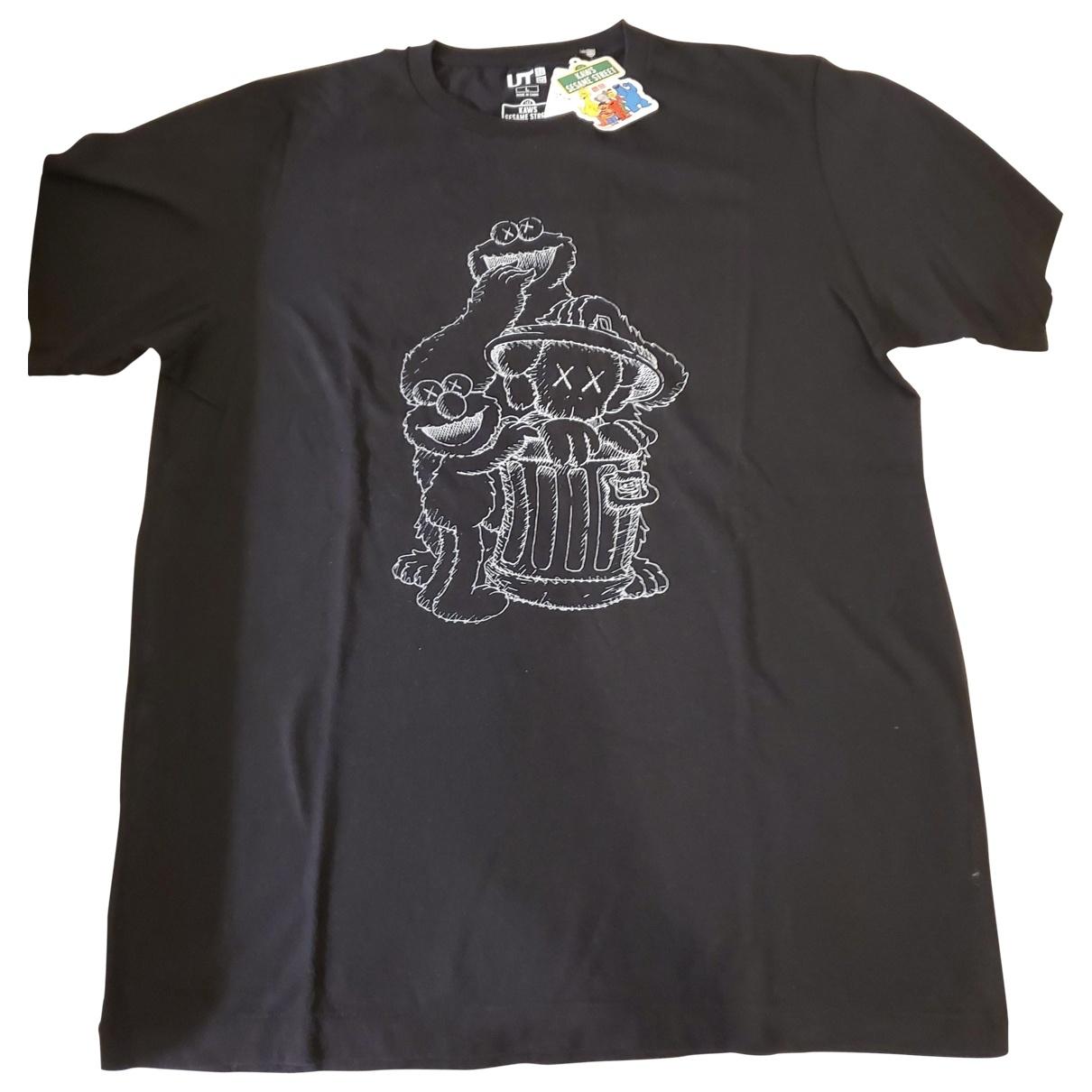 Kaws X Uniqlo \N T-Shirts in  Schwarz Baumwolle
