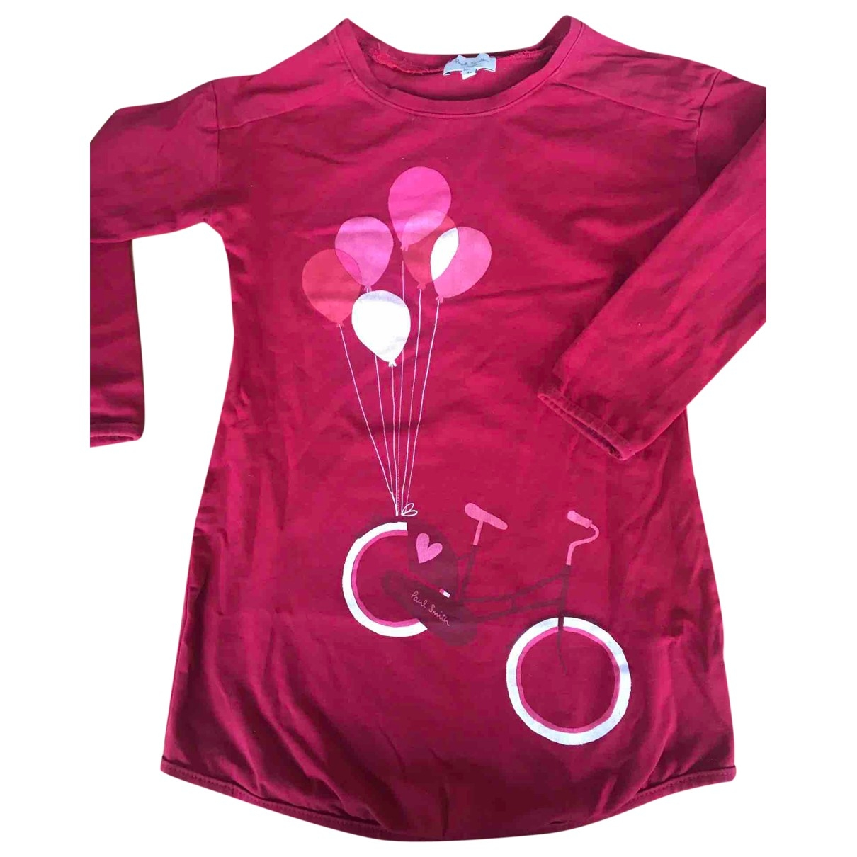 Paul Smith \N Red Cotton dress for Kids 3 years - up to 98cm FR