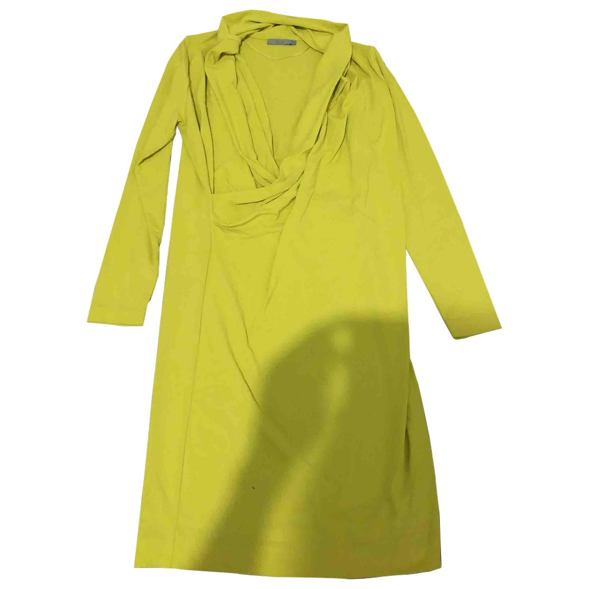Cos \N Kleid in  Gelb Viskose