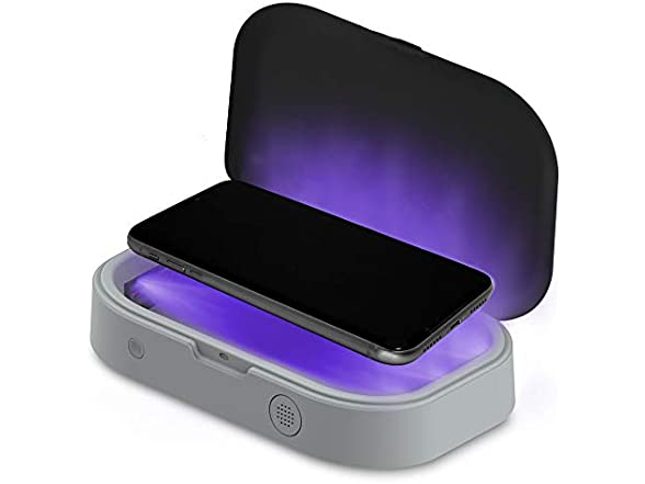 Aduro Phone Sanitizer Box U-clean Uv Light Sanitizer Box