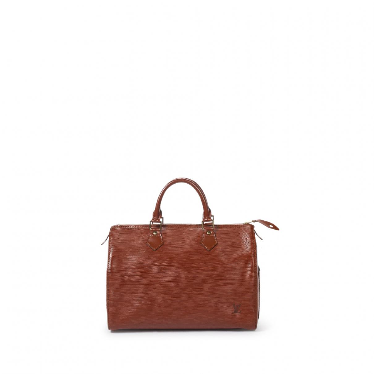 Bolso Speedy de Cuero Louis Vuitton