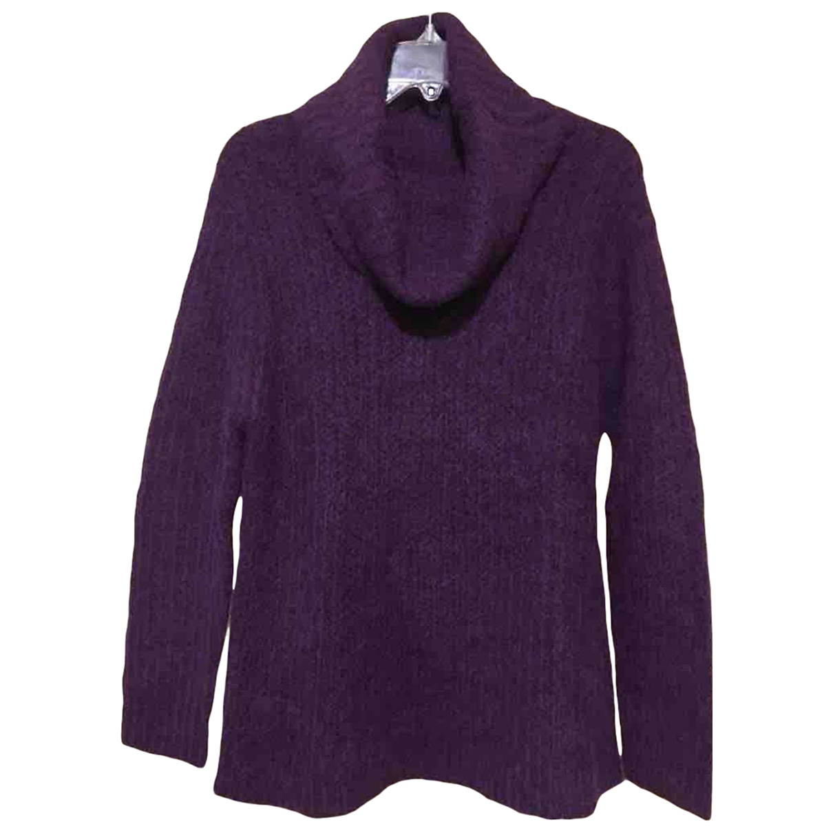 Non Signe / Unsigned \N Pullover in  Lila Wolle
