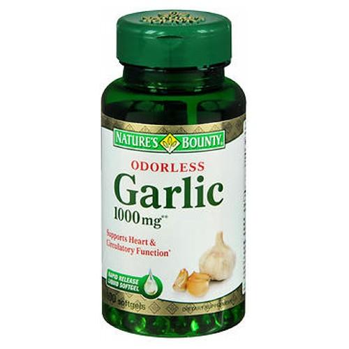 Natures Bounty Odorless Garlic 100 caps by Nature's Bounty