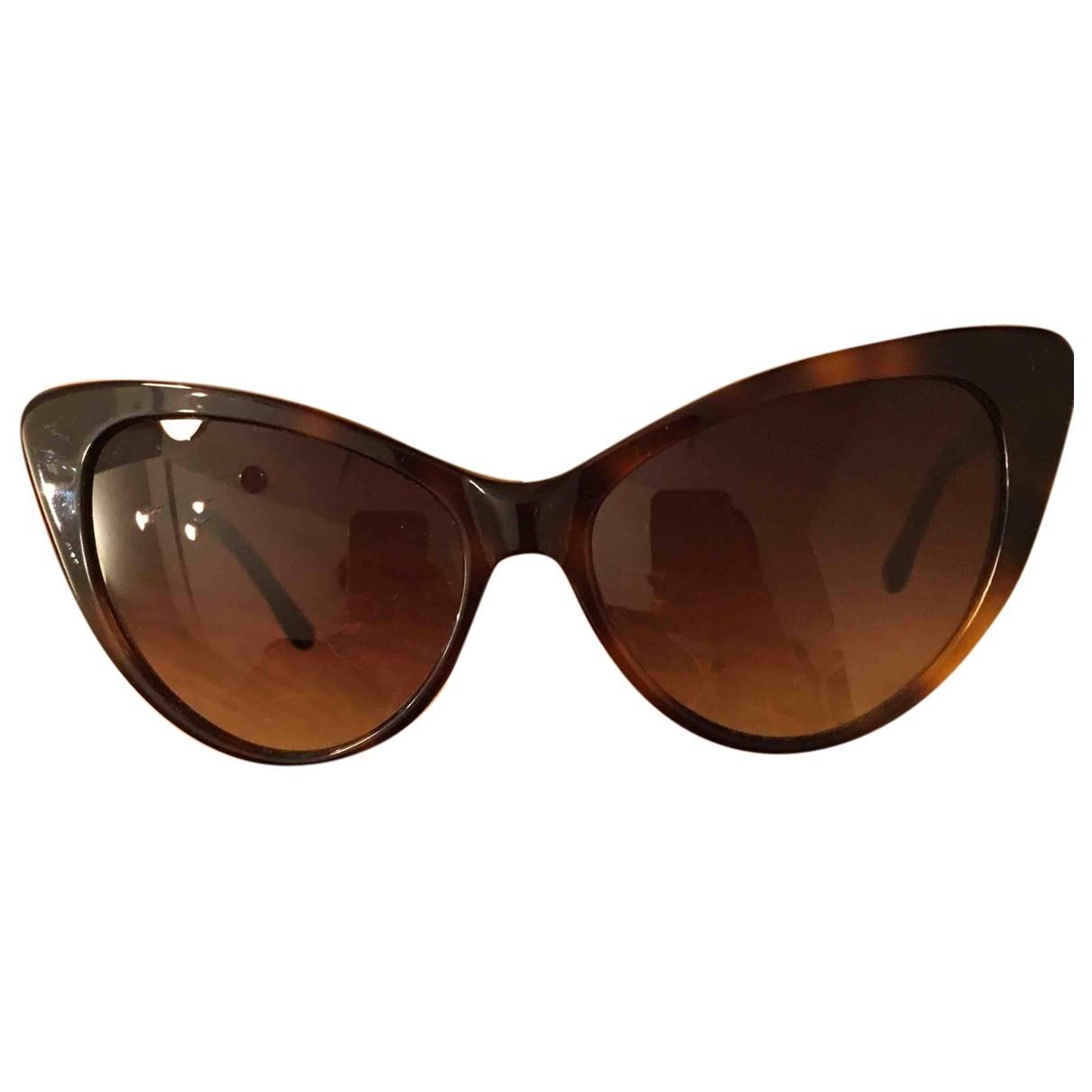 Spektre \N Brown Sunglasses for Women \N