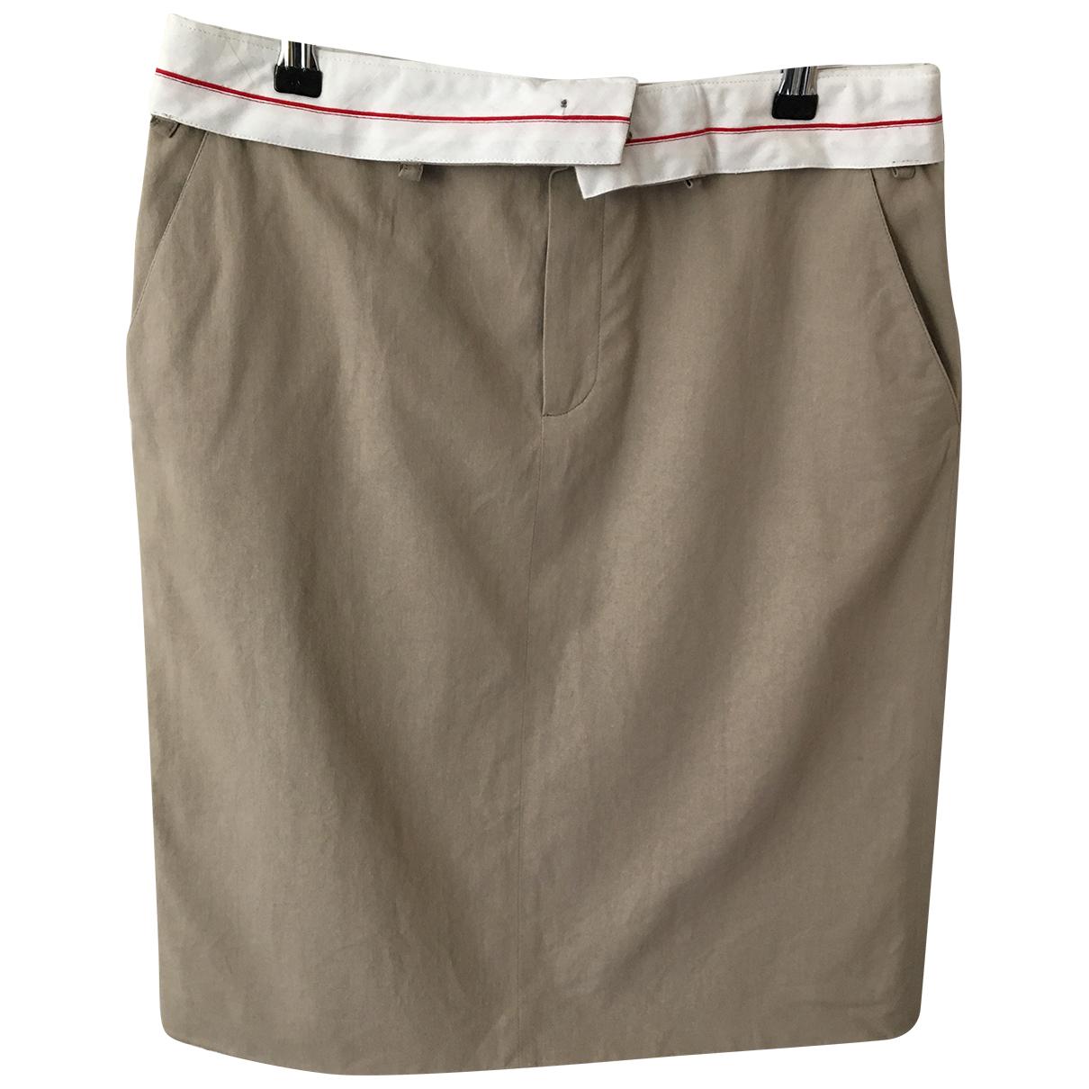 Af Vandevorst - Jupe   pour femme en coton - beige