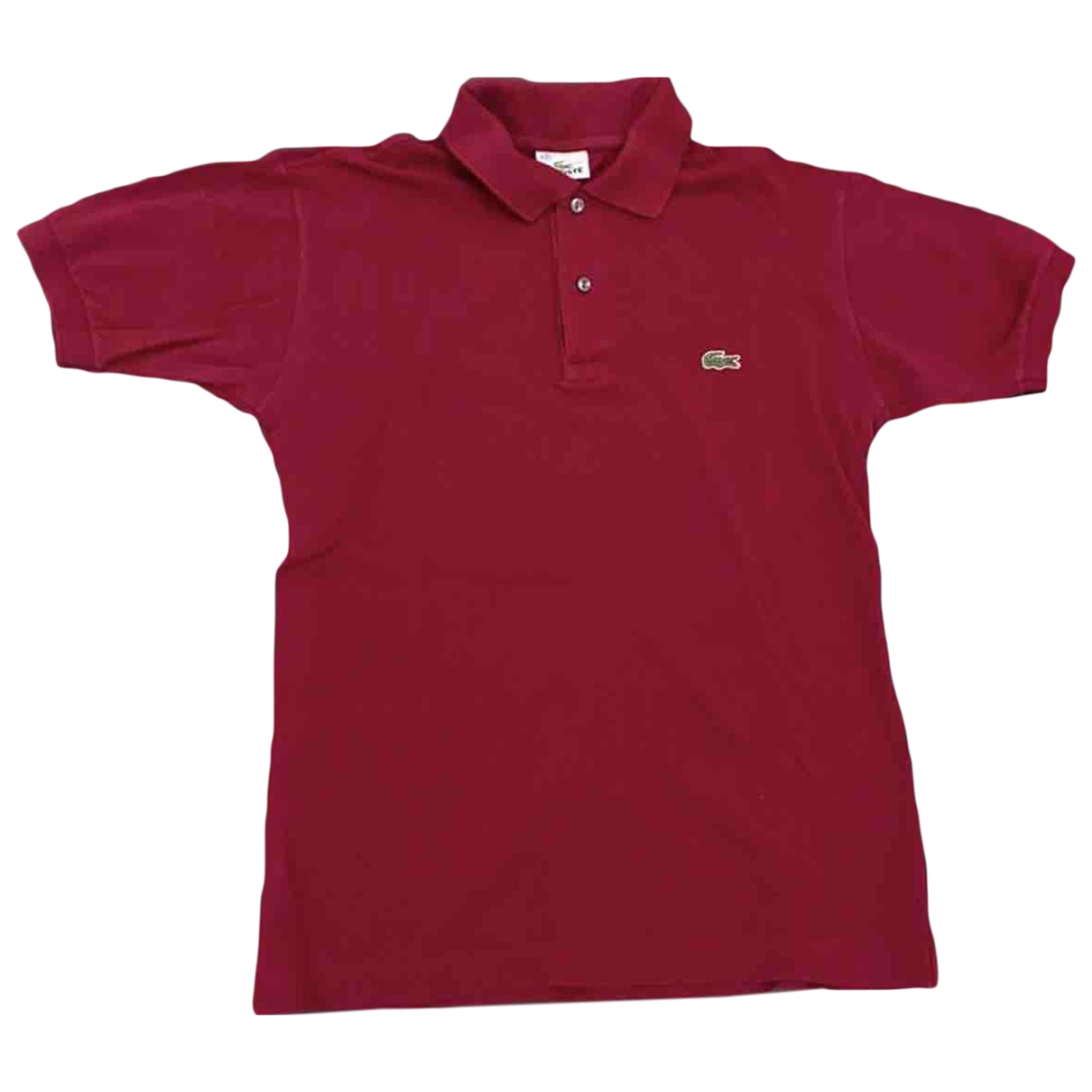 Lacoste \N Top in  Rot Baumwolle