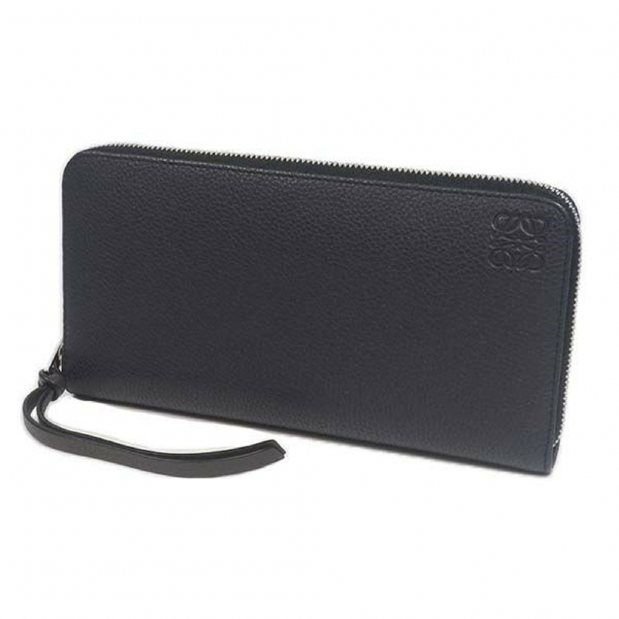 Loewe \N Navy Leather wallet for Women \N
