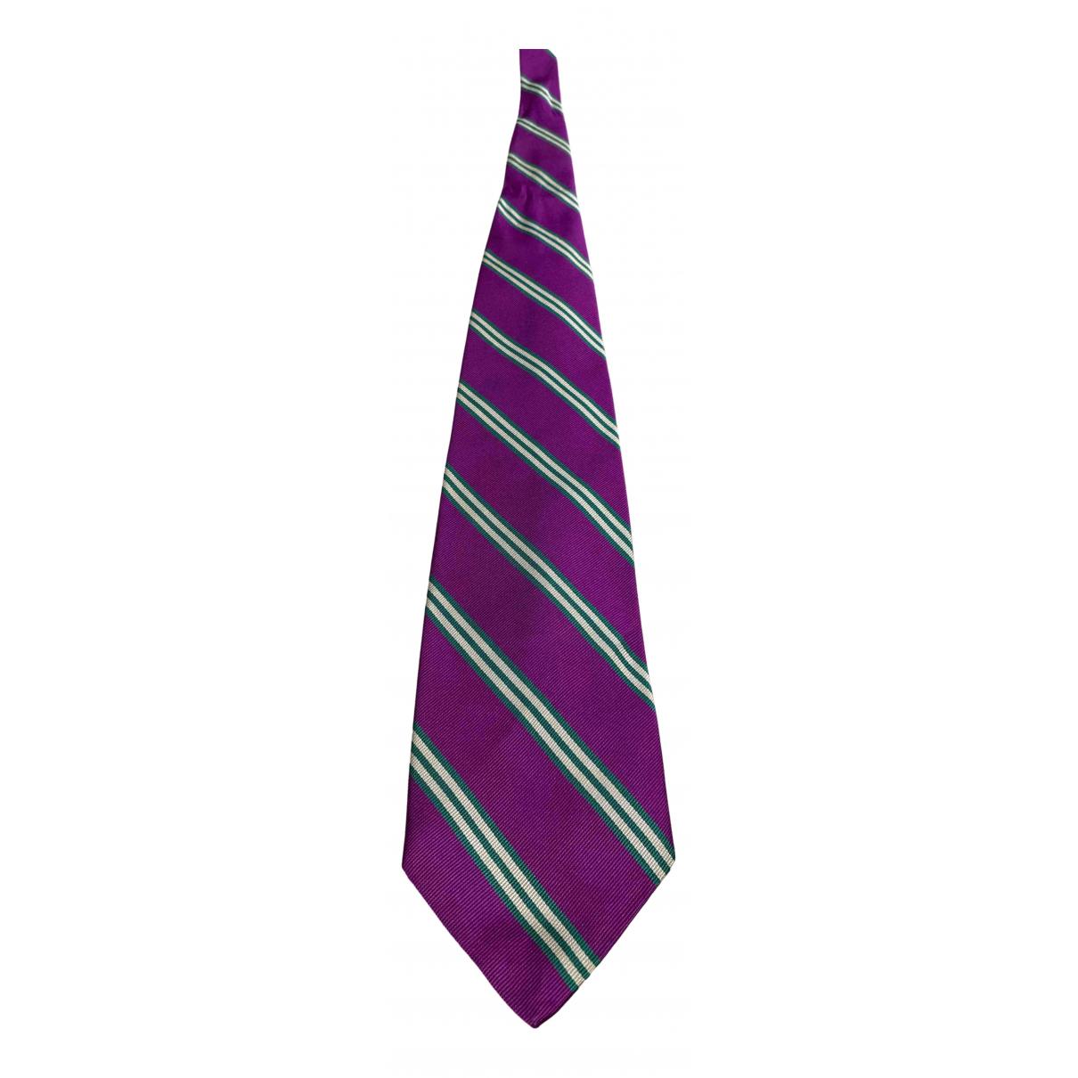 Abercrombie & Fitch \N Krawatten in  Lila Seide