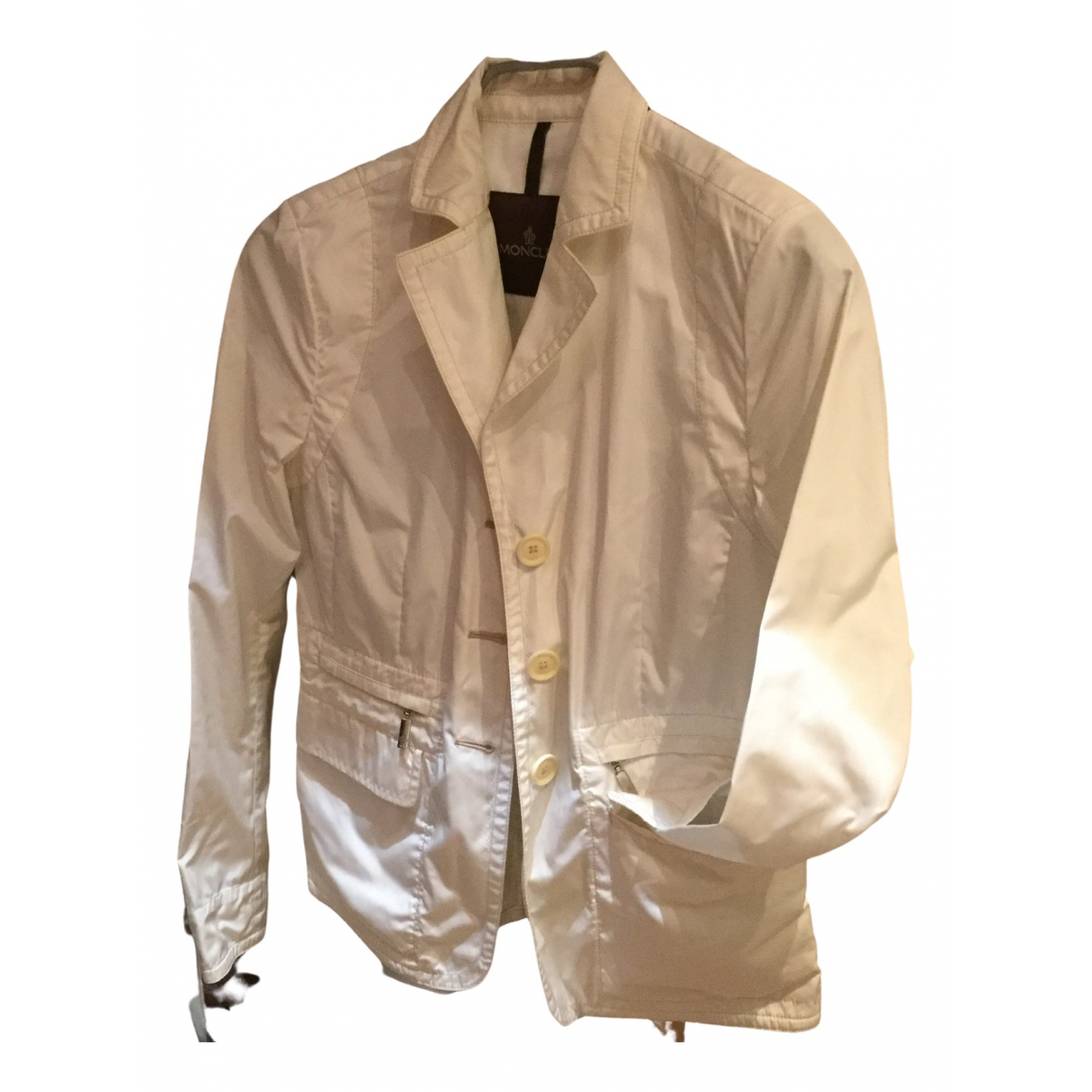 Moncler \N White jacket for Women 0 0-5