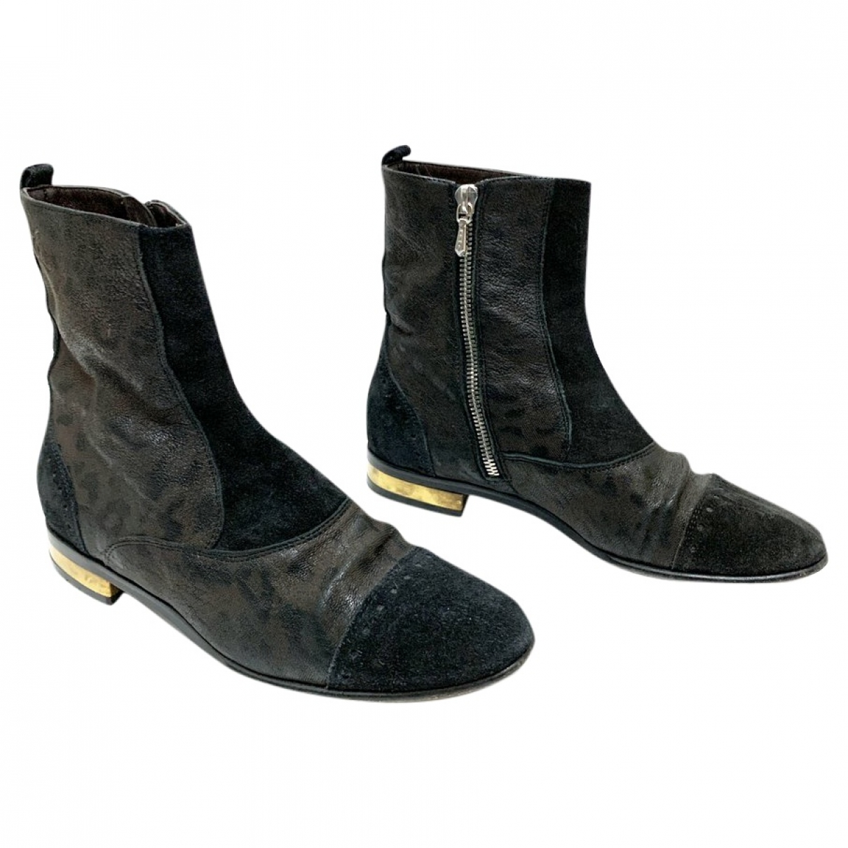 Golden Goose \N Leather Ankle boots for Women 36.5 EU