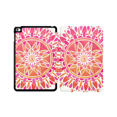 Apple iPad mini 4 Tablet Smart Case - Mandala Pink Ombre von Cat Coquillette