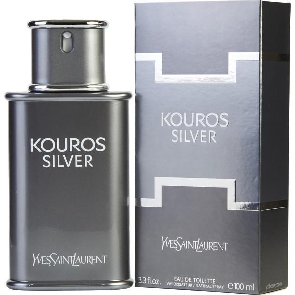 Kouros Silver - Yves Saint Laurent Eau de toilette en espray 100 ML