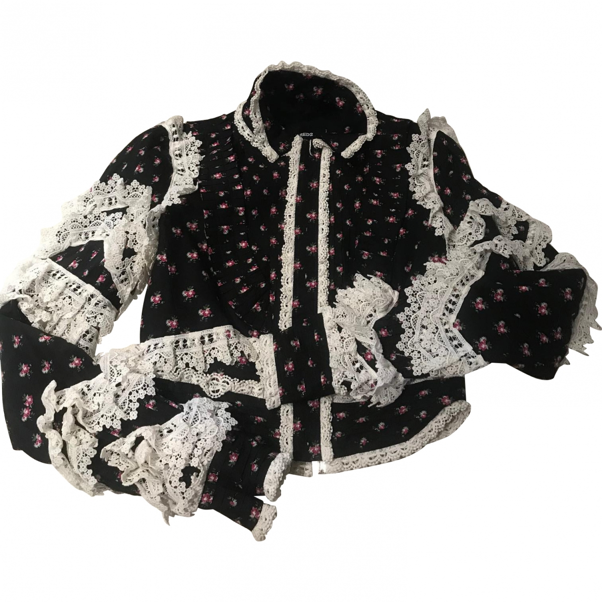 Dsquared2 \N Black Cotton jacket for Women 38 IT