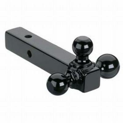 Curt Manufacturing 2 Inch Receiver Triple Ball Mount (Black) - 45655