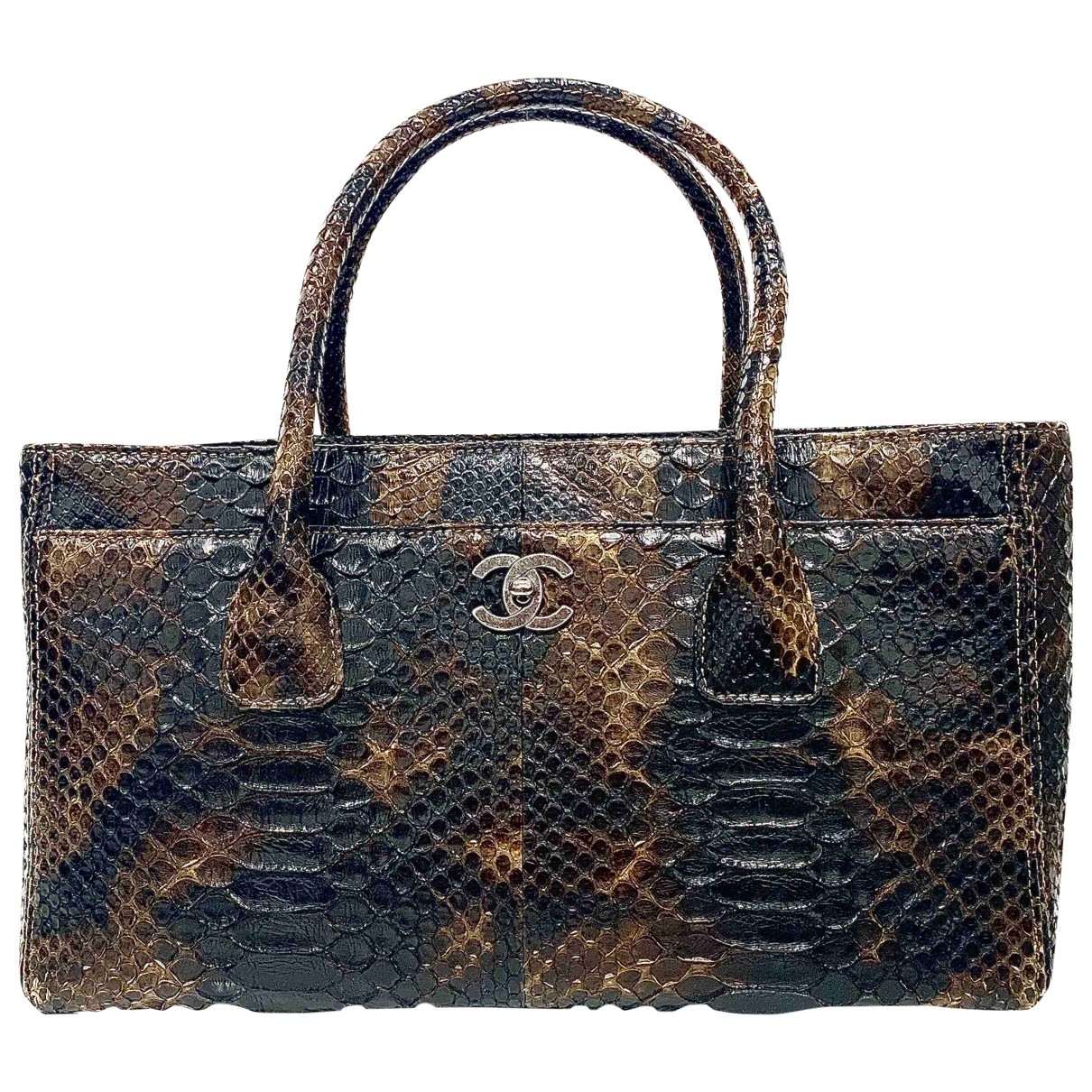 Chanel Executive Multicolour Python handbag for Women \N