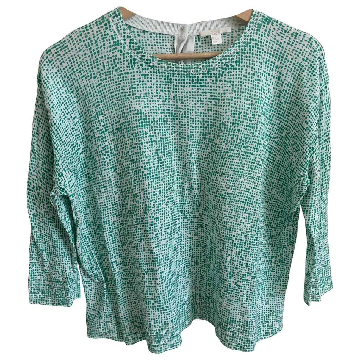 Cos \N Pullover in  Weiss Baumwolle