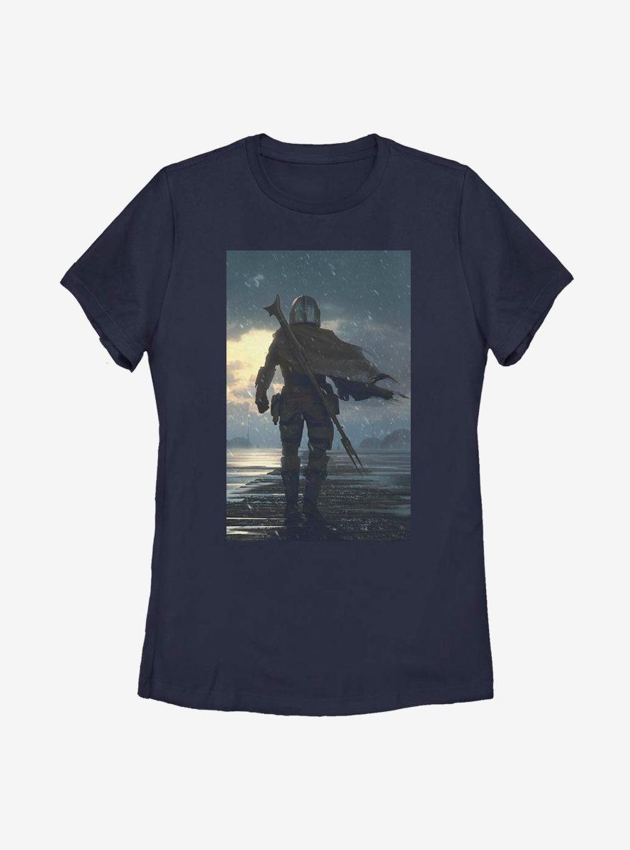 Star Wars The Mandalorian The Child The Way Womens T-Shirt