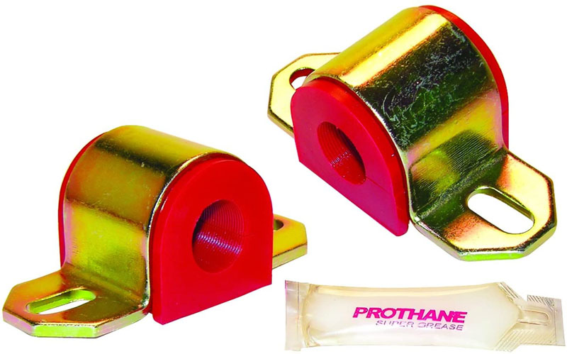 Prothane 19-1110 Universal Sway Bar Bushings - 1in for A Bracket - Red