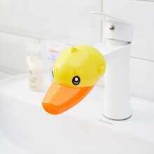 Kids Cartoon Duck Design Faucet Extender