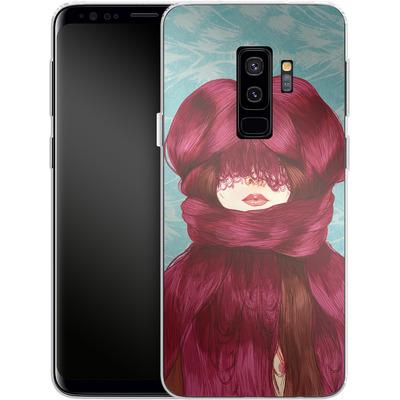 Samsung Galaxy S9 Plus Silikon Handyhuelle - Cold von Marcos Chin