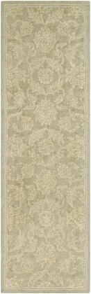 Castille CTL-2019 2' x 3' Rectangle Traditional Rug in Sage