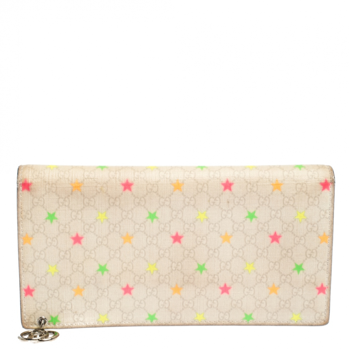 Gucci Continental White Cloth wallet for Women N