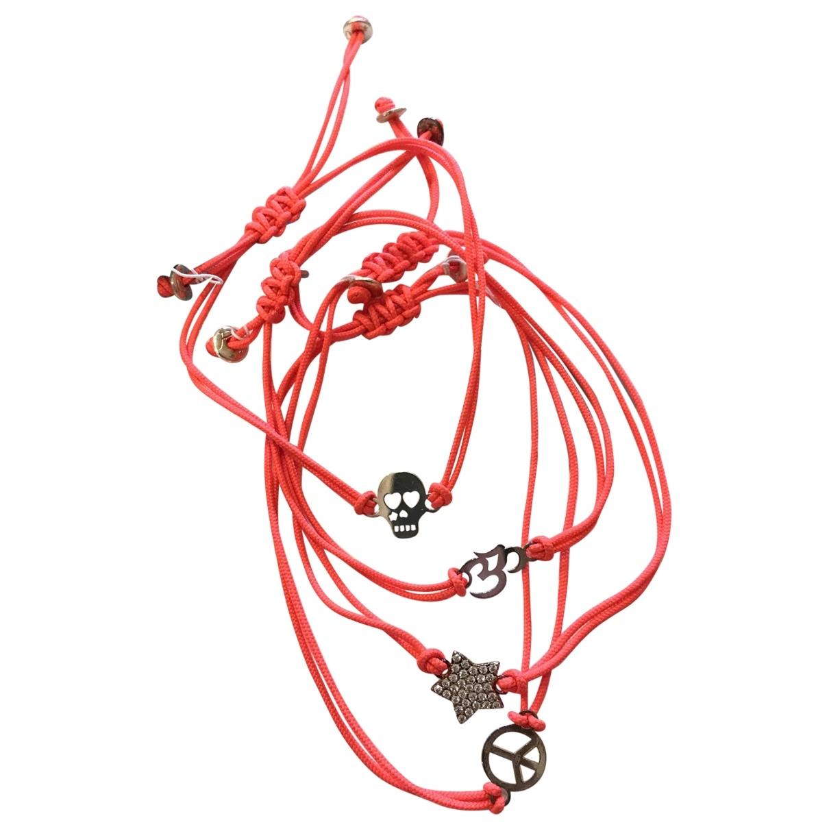 Reminiscence - Bracelet   pour femme en argent - orange