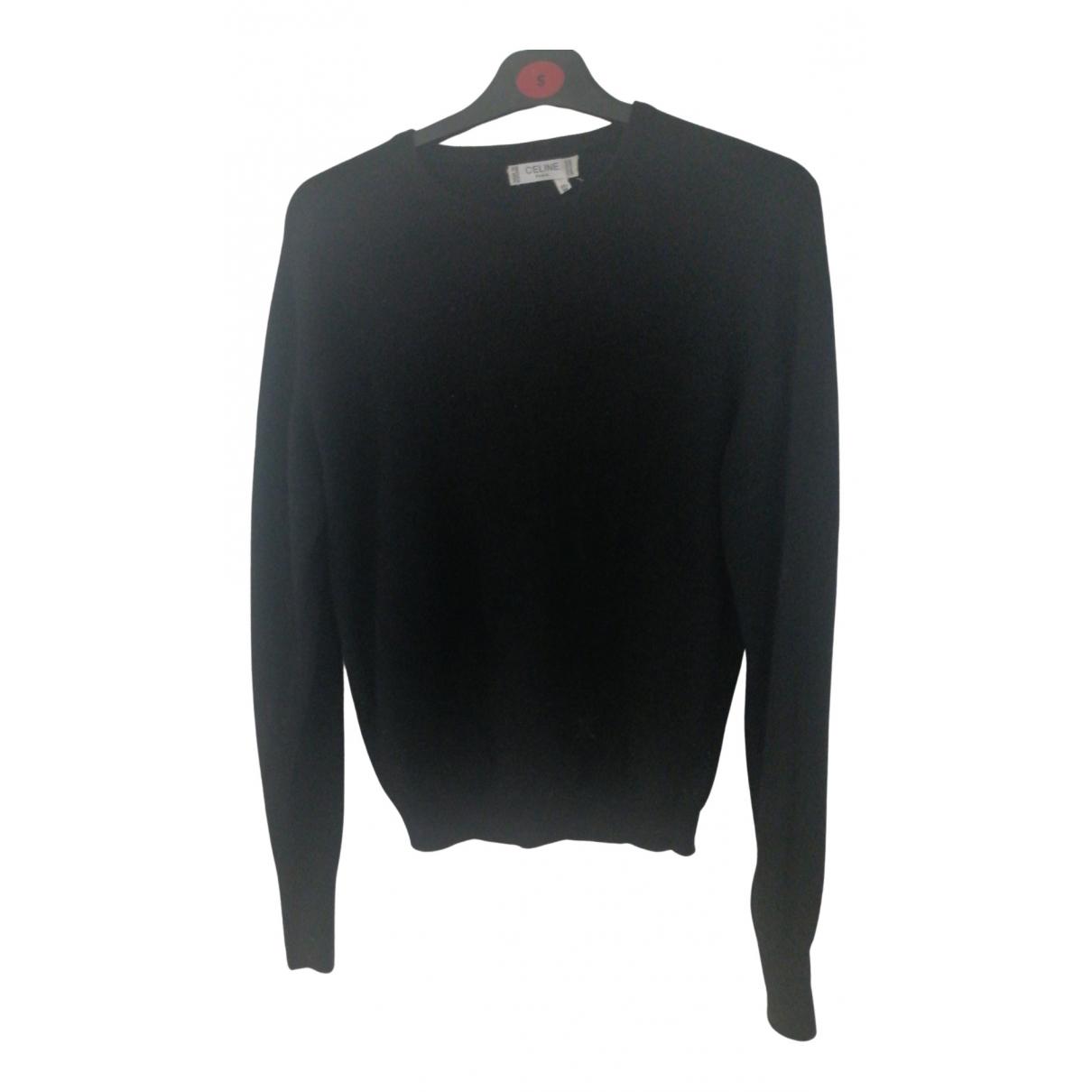 Celine \N Black Wool Knitwear for Women 38 FR
