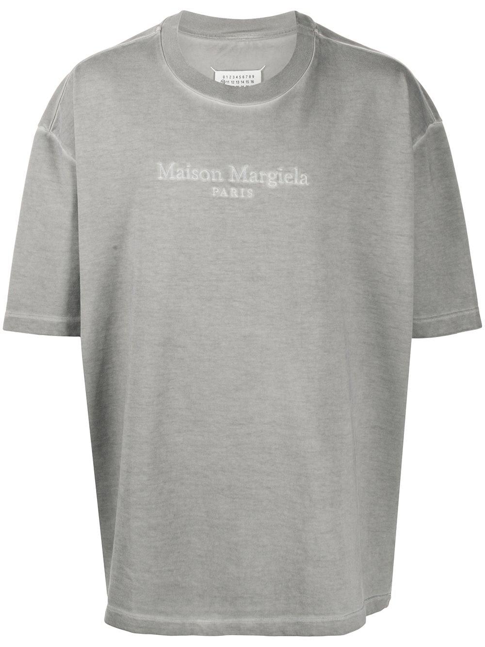 Logo-embroidered Oversized T-shirt