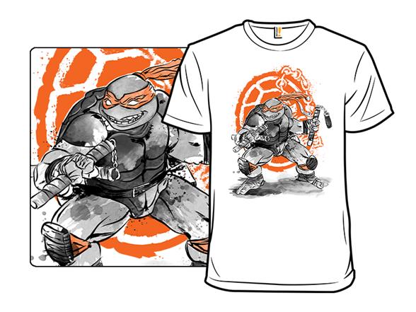 Orange Ninja T Shirt