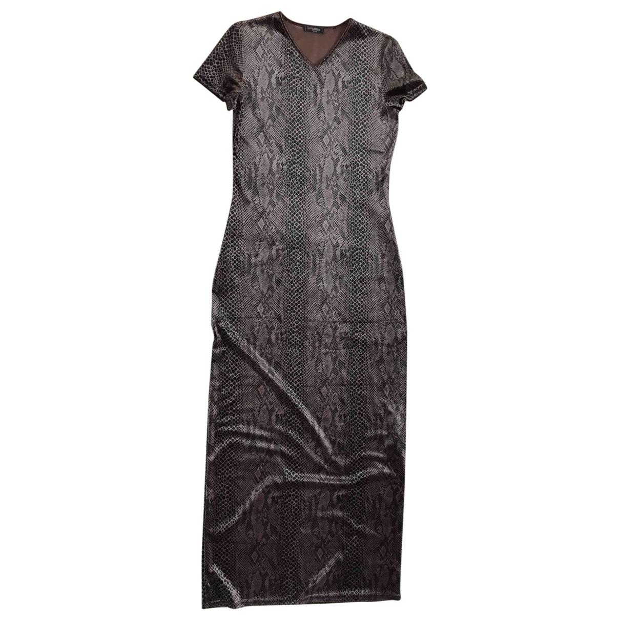 Non Signé / Unsigned \N Brown Velvet dress for Women 3 0-5