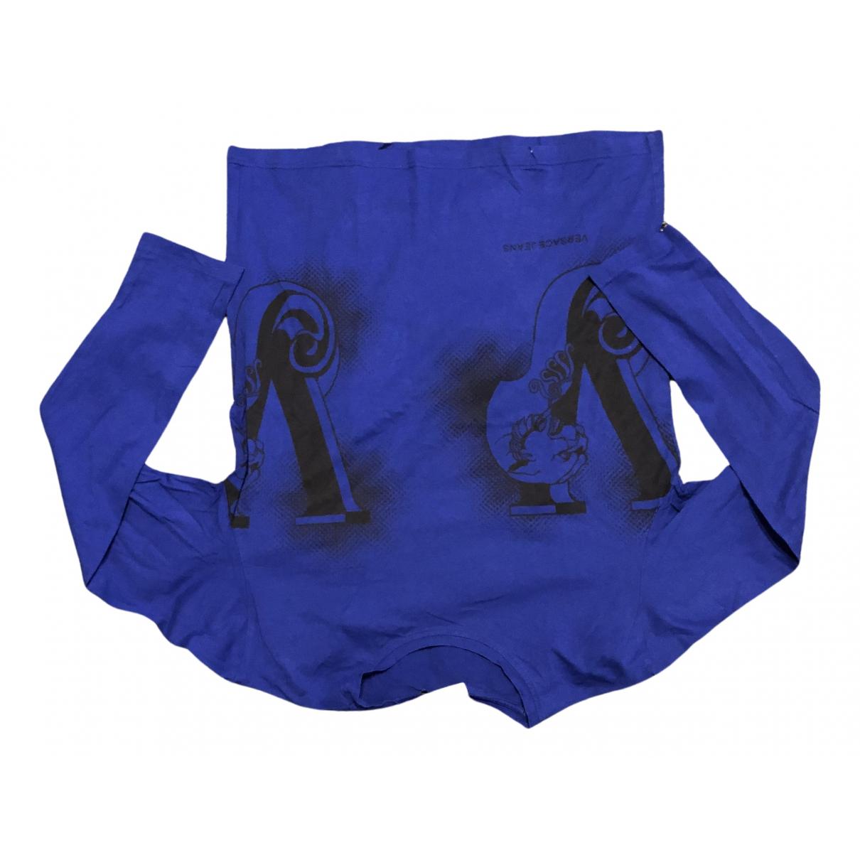 Versace Jean - Pulls.Gilets.Sweats   pour homme en coton - bleu