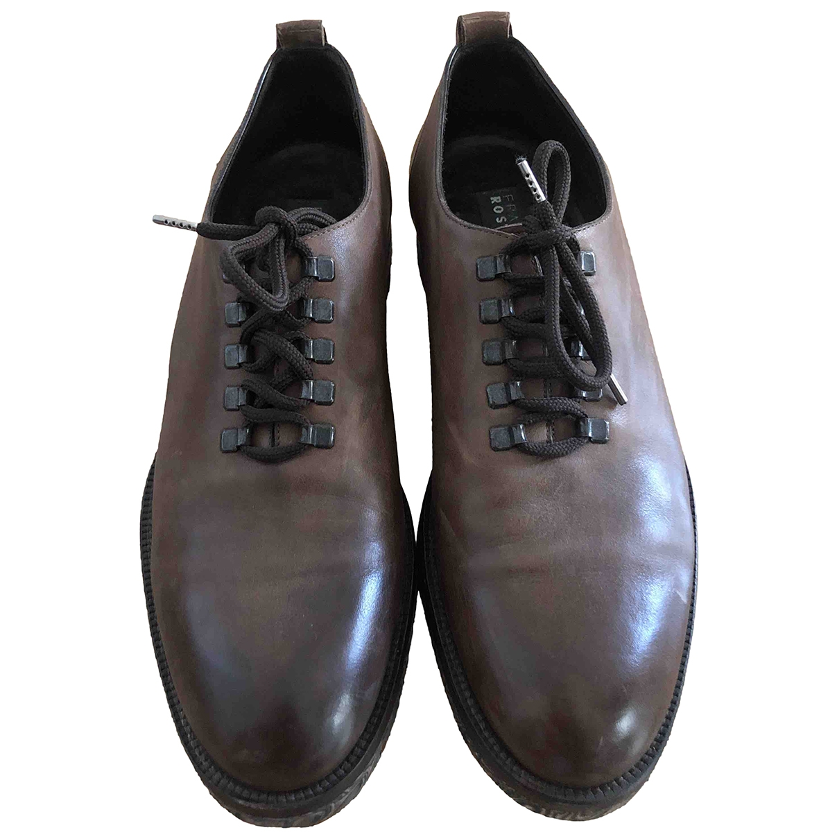 Fratelli Rossetti \N Brown Leather Lace ups for Men 10 UK